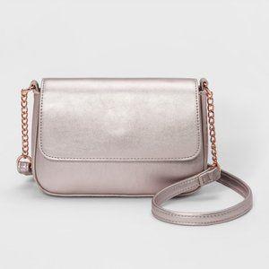 NWT Mossimo Supply Co. Crossbody Bag - Rose Gold
